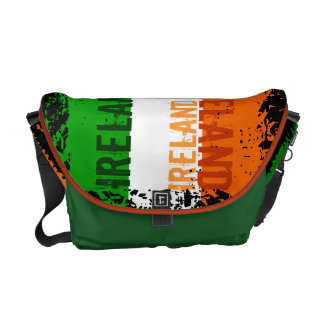 Ireland Flag Messenger Bag