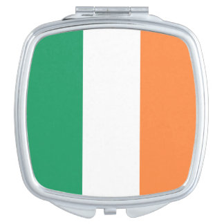 Ireland Flag Mirror For Makeup