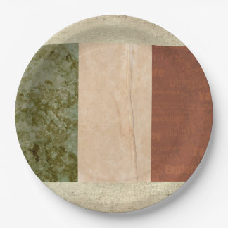 Ireland Flag Paper Plates