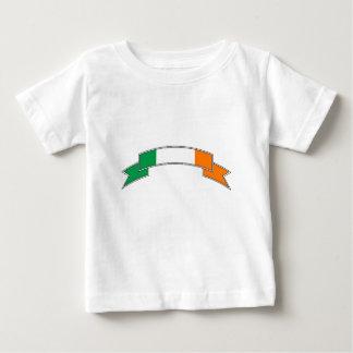 Ireland Flag Ribbon Baby T-Shirt
