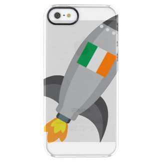 Ireland Flag Rocket Clear iPhone SE/5/5s Case