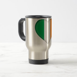 Ireland Flag Travel Mug