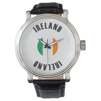Ireland Flag Wheel Wristwatches