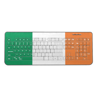 Ireland Flag Wireless Keyboard