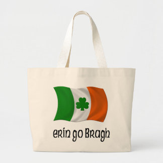 Ireland Forever Erin Go Bragh Irish Saying Canvas Bag