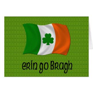 Ireland Forever Erin Go Bragh Irish Saying Greeting Card