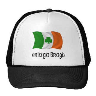 Ireland Forever Erin Go Bragh Irish Saying Trucker Hats