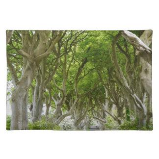 ireland green way placemat