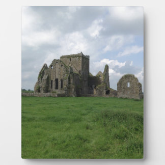 Ireland Hore Abbey Irish Ruins Rock of Cashel Display Plaque