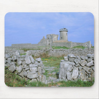 Ireland, Inishmore, Aran Island, Dun Aengus Fort Mousepad