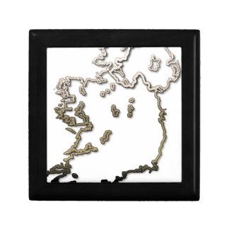 Ireland-Map Gift Box