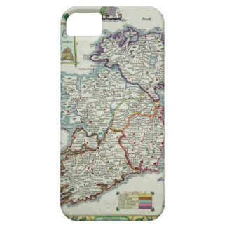 Ireland Map - Irish Eire Erin Historic Map iPhone 5 Covers