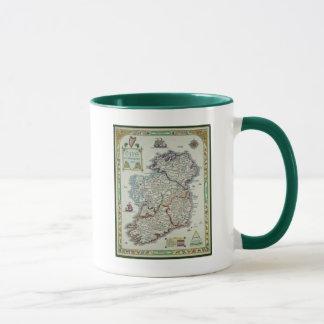Ireland Map - Irish Eire Erin Historic Map Mug