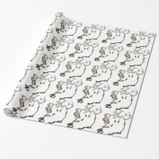 Ireland-Map Wrapping Paper