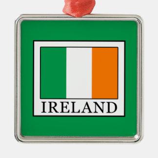 Ireland Metal Ornament