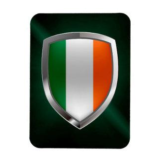 Ireland Metallic Emblem Magnet