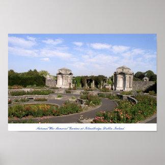 Ireland National War Memorial Gardens Dublin Poster