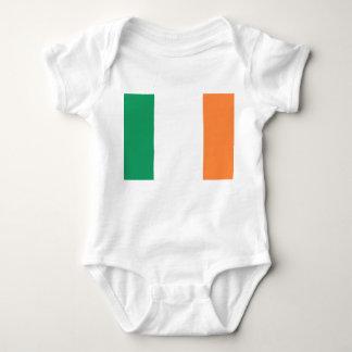 Ireland National World Flag Baby Bodysuit
