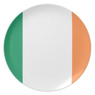 Ireland National World Flag Plate