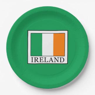 Ireland Paper Plate