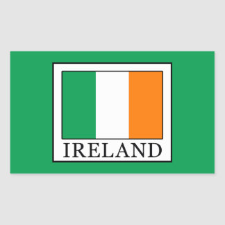 Ireland Rectangular Sticker