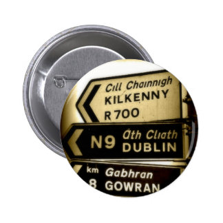 Ireland Roadside Signs Buttons