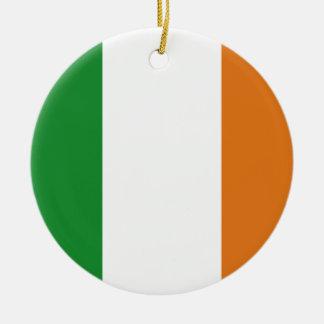 Ireland Round Ceramic Decoration