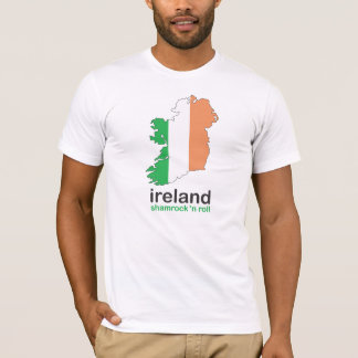 ireland shamrock n roll tee