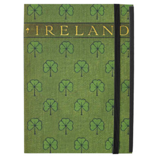 Ireland Shamrock Old Book Cover