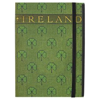 Ireland Shamrock Old Book Cover