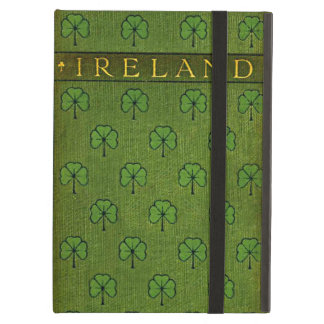Ireland Shamrock Old Book Cover Cover For iPad Air