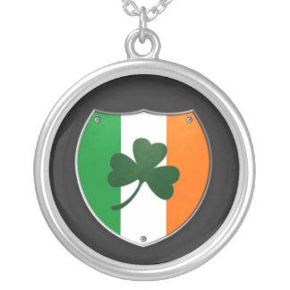 Ireland Shamrock Shield Necklace