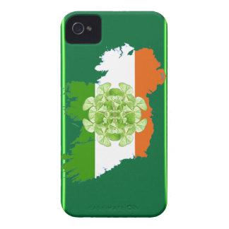 Ireland Shamrock Spin Blackberry Bold BT Case iPhone 4 Case-Mate Cases