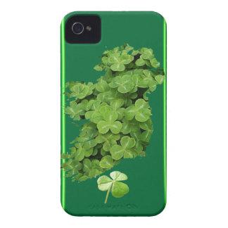 Ireland Shamrock Stripes Blackberry Bold BT Case Case-Mate iPhone 4 Case