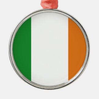 Ireland Silver-Colored Round Decoration