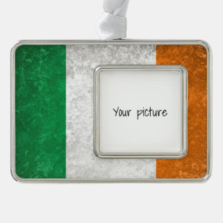 Ireland Silver Plated Framed Ornament