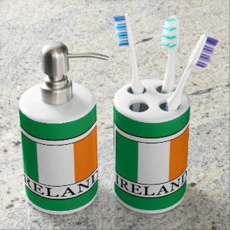 Ireland Soap Dispenser And Toothbrush Holder
