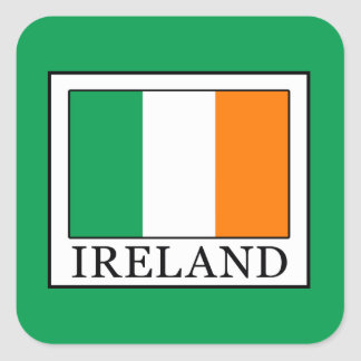 Ireland Square Sticker