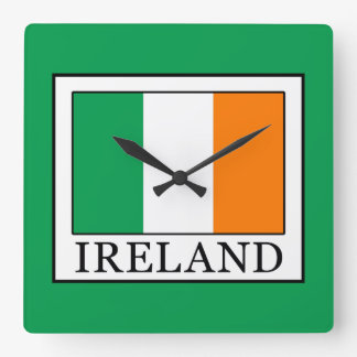 Ireland Square Wall Clock