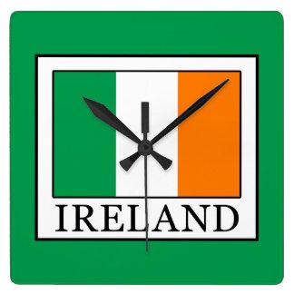 Ireland Square Wall Clock