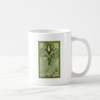 Ireland St Patrick's Day Greetings - Vintage Coffee Mug
