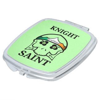 Ireland St Patrick's Day Knight Saint Travel Mirrors