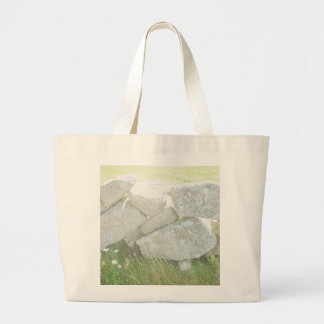 Ireland Stones Large Tote Bag