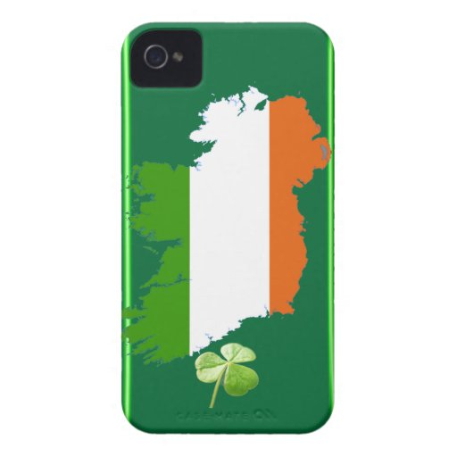 Ireland Stripes Blackberry Bold Barely There Case Blackberry Bold Cases