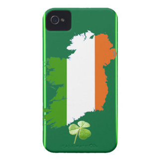 Ireland Stripes Blackberry Bold Barely There Case Case-Mate iPhone 4 Cases