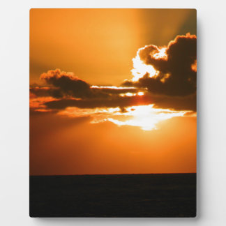 Ireland Sunset Photo Plaques