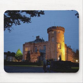 Ireland, the Dromoland Castle lit at dusk, Mouse Pad