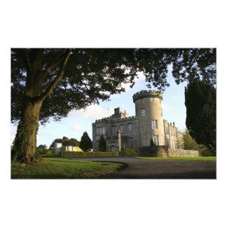 Ireland, the Dromoland Castle side entrance. Photo Art