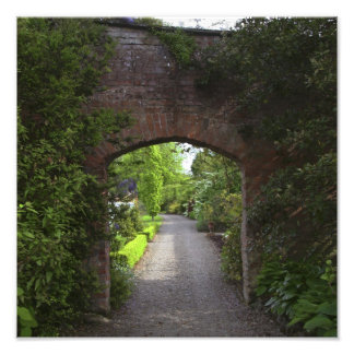 Ireland, the Dromoland Castle very green Photographic Print
