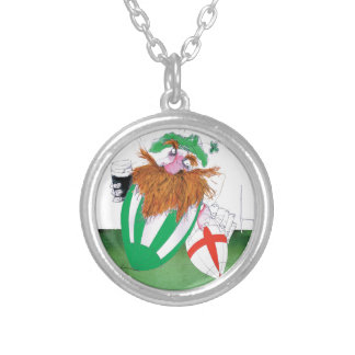 ireland v england rugby balls tony fernandes silver plated necklace